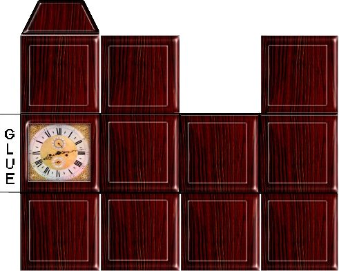 Dollhouse Clock Printables Ekenasfiber Johnhenriksson Se